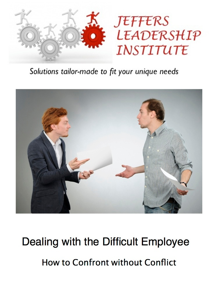 Dealing with the Difficult Employee Cover